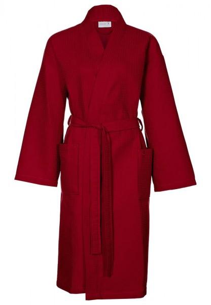 Pique Bademantel aus 100% Baumwolle von Möve für Damen und Herren in Rot