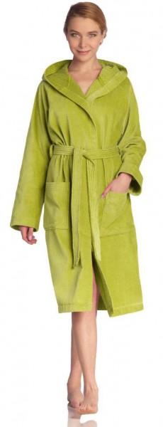 Damen Bademantel von Vossen in meadowgreen
