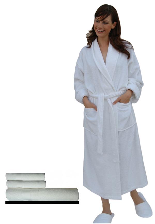 bademantel mit schalkragen handtuch und saunatuch set bademantel schalkragen badem ntel. Black Bedroom Furniture Sets. Home Design Ideas