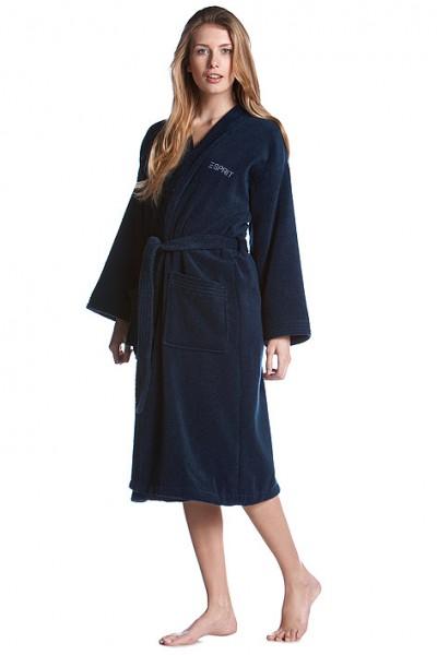 Kimono Bademantel black esprit