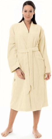 Damen Kimono Bademantel von Egeria in ivory