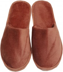 Frottee Slipper von Naturawalk, Braun