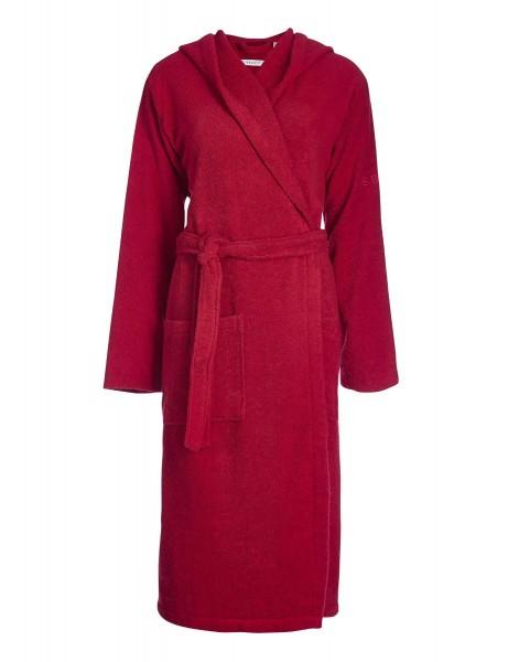 Bademantel mit Kapuze in rot Easy von Esprit