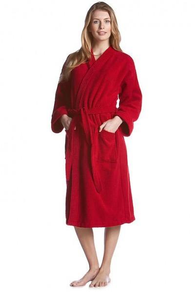 Kimono Bademantel esprit red