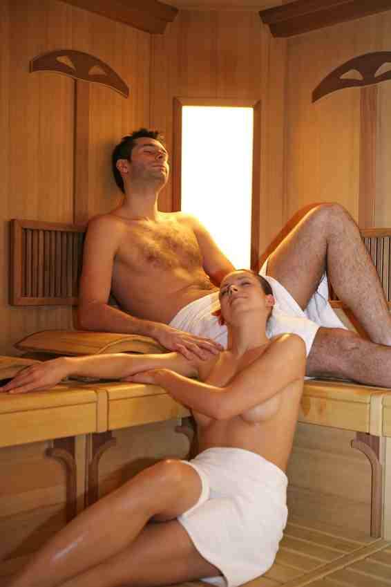 Sauna Herz und Kreislauf